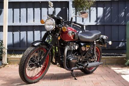 2013 Kawasaki w800 SE Grovedale Geelong City Preview