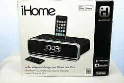 iHome App-Enhanced Dual Alarm Stereo Clock for iPhone and iPod