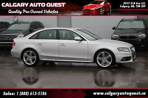 2011 Audi S4 3.0 Premium AWD / 6-SPEED / SUNROOF