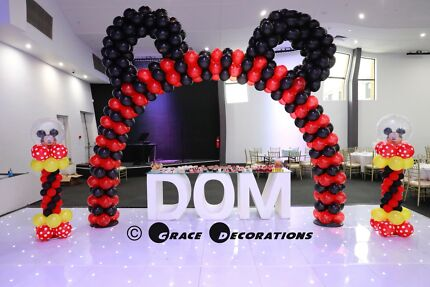 Premier birthday party decoration