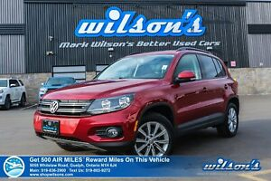 2015 Volkswagen Tiguan COMFORTLINE | NAVIGATION | LEATHER | PANO