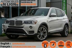 2015 BMW X3 xDrive28i | TOIT PANORAMIQUE | BLUETOOTH | MAGS |