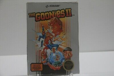 The Goonies II Nintendo NES Complete Tested Works Box Wear See Pics