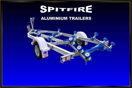 New Spitfire Boat Trailer for sale 5.75 metres