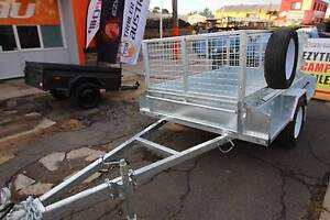 7x4 Heavy Duty Box Trailer - Fully Galvanised with 600mm CAGE Fyshwick South Canberra Preview