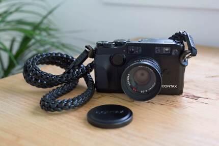 【Rare Mint】 Contax G2 Black + Contax Planar 35mm f/2 Black