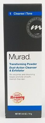Dual Action-cleanser (Murad Acne Transforming Powder 0.5oz - NEW Dual-Action Cleanser & Exfoliator )