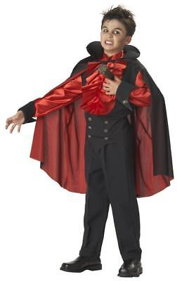 Dracula Kids Costumes (Staked Vampire Boys Kids Dracula Child Halloween Costume Scary Size)