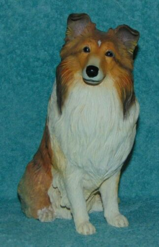 Danbury Mint Sheltie Dog Figurine 9 1/4 inch