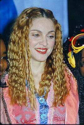 40 35mm Color Photo Slide Pictures of Madonna - Nick's Kids' Choice Awards 1998