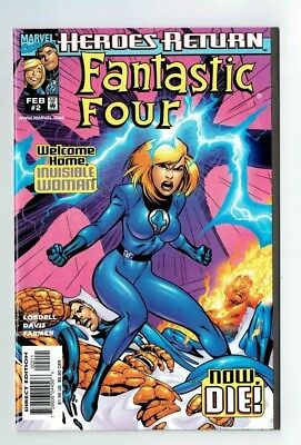 Marvel FANTASTIC FOUR #2 1998 Welcome Home Invisible Woman...Now Die!