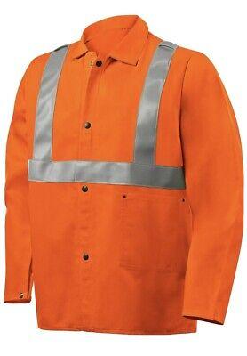 Steiner 1040rs 30 Orange Fr Cotton Jacket With Fr Silver Reflectives Medium