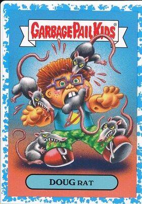 A Cartoon Rat (2A DOUG RAT 2019 Garbage Pail Kids Hate 90's CARTOONS/COMICS BLUE /99)