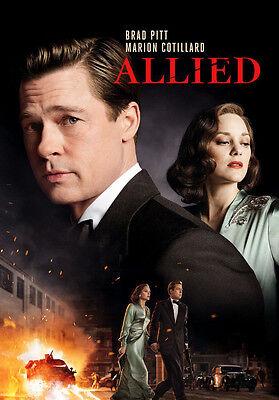 Allied  Dvd  2017