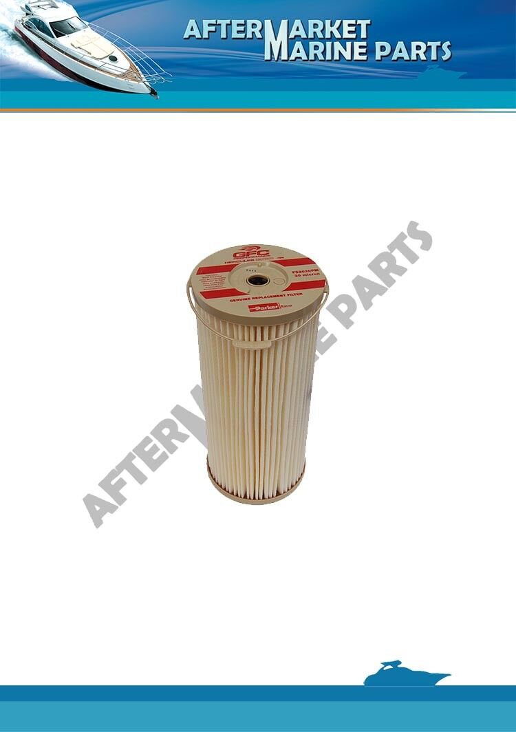 Volvo Penta 30 micron fuel filter red colour (Big) replaces: 889422