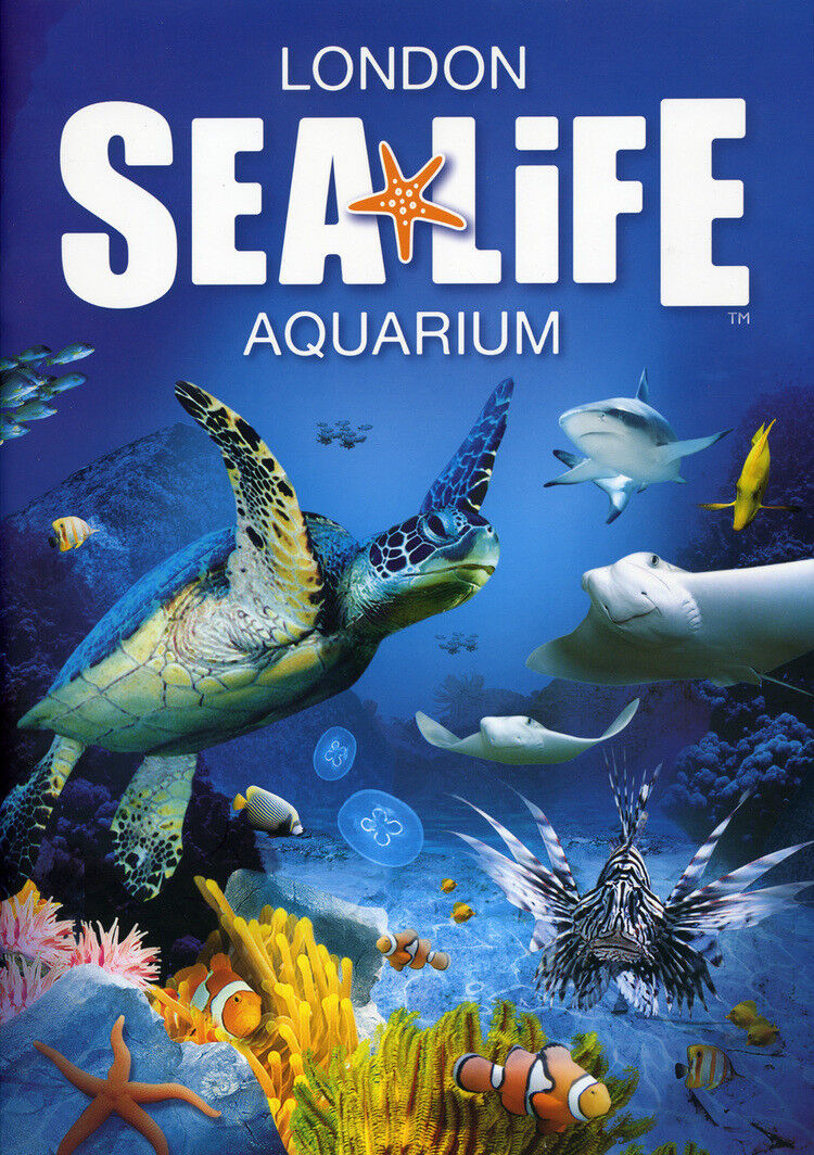 Sea Life London Discount Tickets - £17.85 for Adult or £14.45 for Child (Anyday)