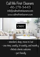 Maid - Housekeeper - Cleaner - CMFC - Call Me First Cleaners