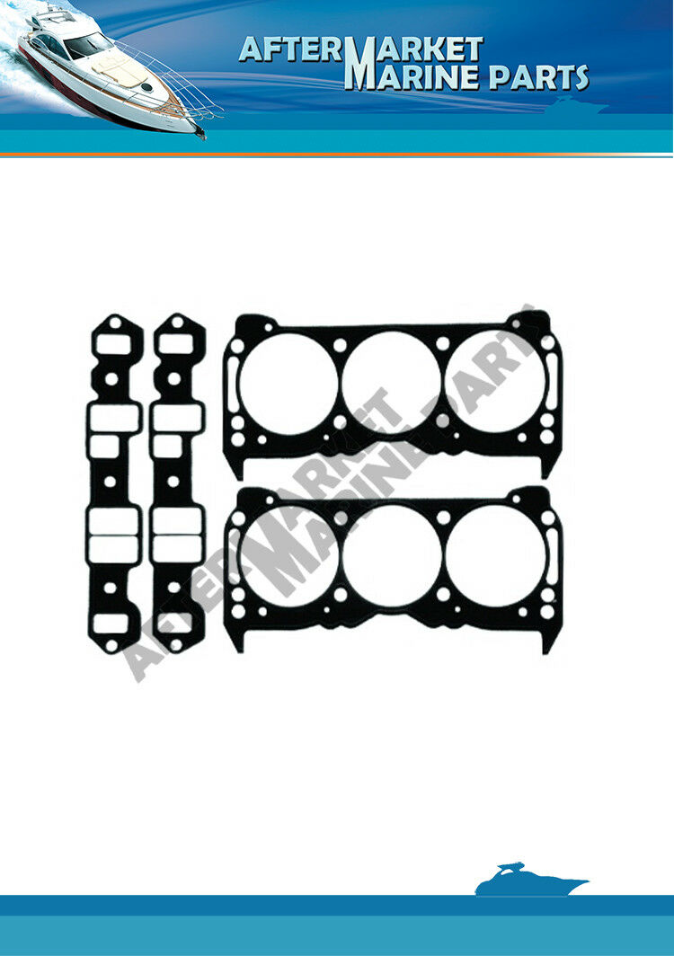 Gasket kit made for OMC by GLM Marine replaces part number#: 985662
