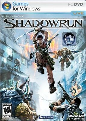 Computer Games - Shadowrun PC Games Windows 10 8 7 XP Computer shadow run action shooter