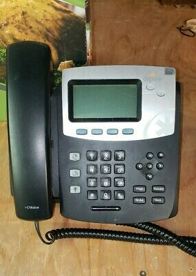 Digium D40 Hd Voice Ip Phone W Backlit Display - No Power Supply Pulled Working