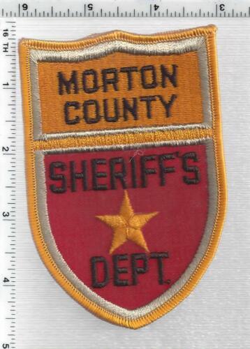 Morton County Sheriff (North Dakota) 1st Issue Shoulder Patch