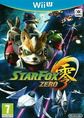 Star Fox Zero For Wii U ** Brand New & Sealed Nintendo WiiU PAL Game ** StarFox