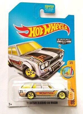 Hot Wheels '71 Datsun Bluebird 510 Wagon Zamac. NEW RARE