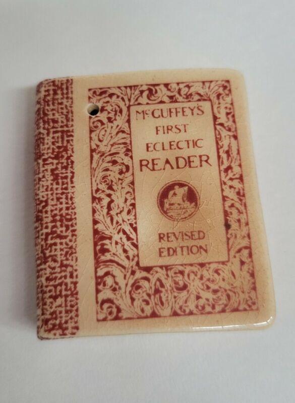 McGuffeys 1st Eclectic Reader Book Salt or Pepper Shaker