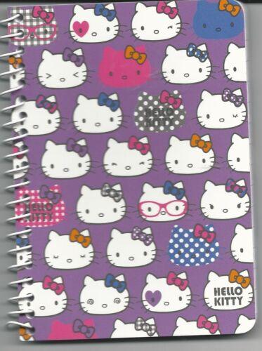 Sanrio Hello Kitty Spiral Notebook Faces
