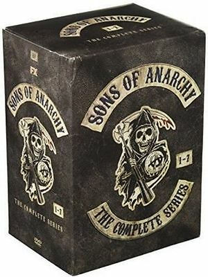 Sons Of Anarchy Complete Series Season 1 5 6 7 30 Disc Dvd Brand New