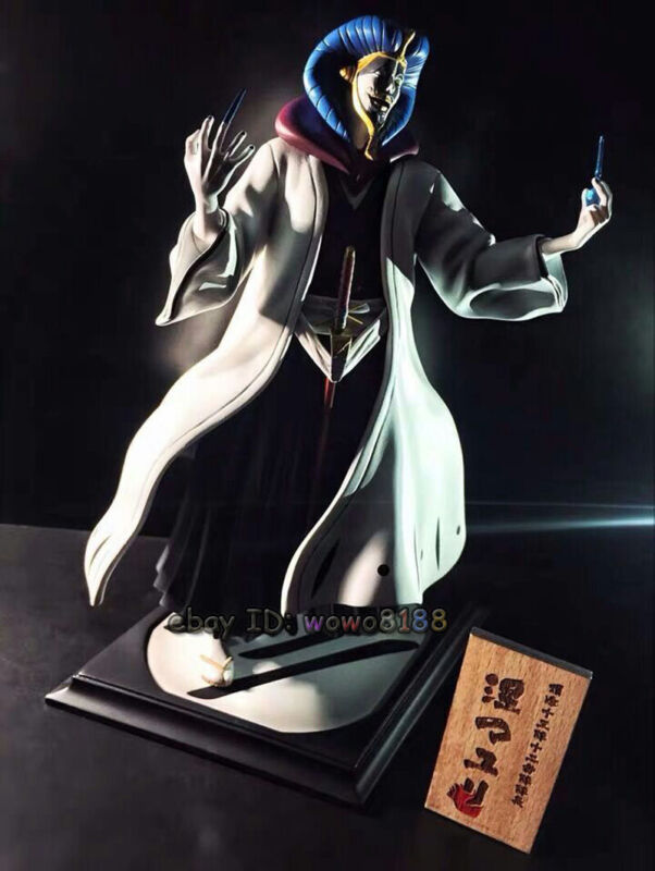 High-Q BLEACH Kurotsuchi Mayuri Resin Figurine Figure Model Captain Collection