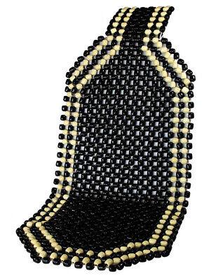 Schwarze Sitz (Holzkugel Sitzauflage Black Holzperlenauflage Schwarz)