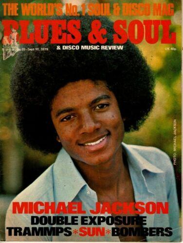 Blues & Soul Magazine 1979     Michael Jackson     Double Exposure     Trammps