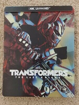 Transformers The Last Knight Steelbook (4K Ultra HD/Blu-ray 3-Disc Set)