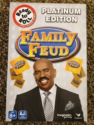 New Family Feud - Platinum Edition - by Cardinal