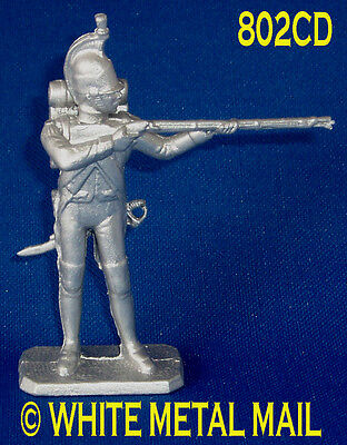 Napoleonic Casting 802CD 1:32 Scale Dragoon Infantry Standing Firing Conversion