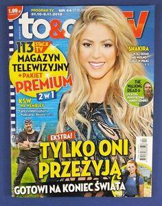 SHAKIRA mag.FRONT cover Leonardo DiCaprio,Pentameron, Norman Reedus,A.Lincoln - <span itemprop=availableAtOrFrom>europe, Polska</span> - Zwroty są przyjmowane - europe, Polska