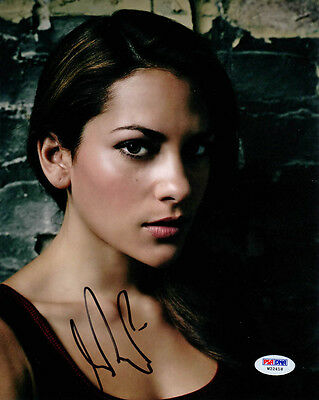 Inbar Lavi SIGNED 8x10 Photo Veronica 'Vee' Gang Related PSA/DNA AUTOGRAPHED
