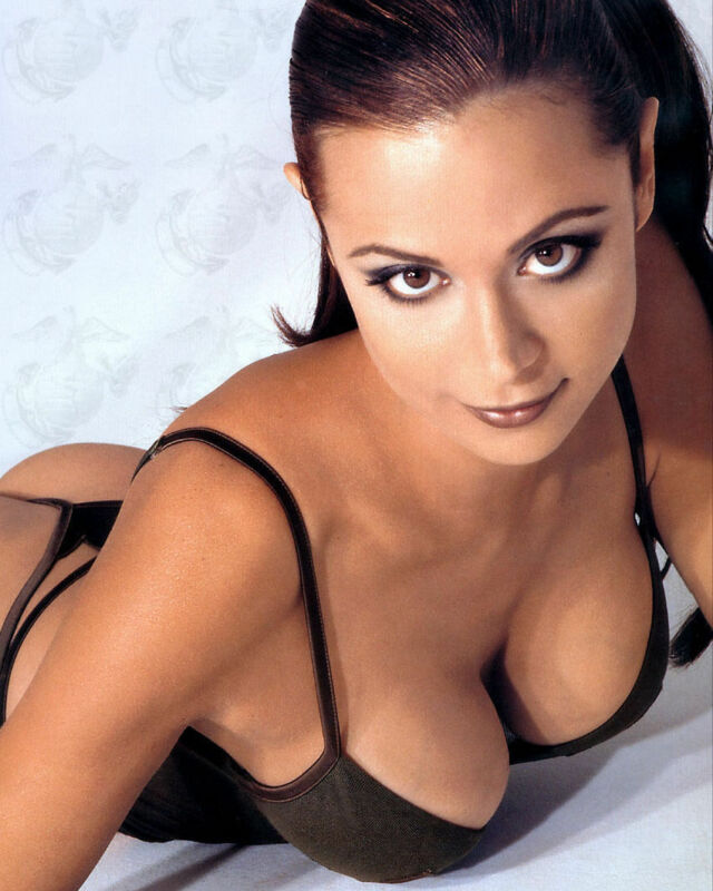 Catherine Bell Sexy Face  8x10 Picture Celebrity Print