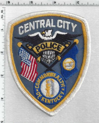 Central City Police (Kentucky) 2nd Issue Shoulder Patch