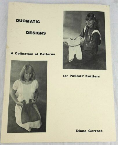 Duomatic Designs for Passap Knitters Pattern Collection Diane Gerrard