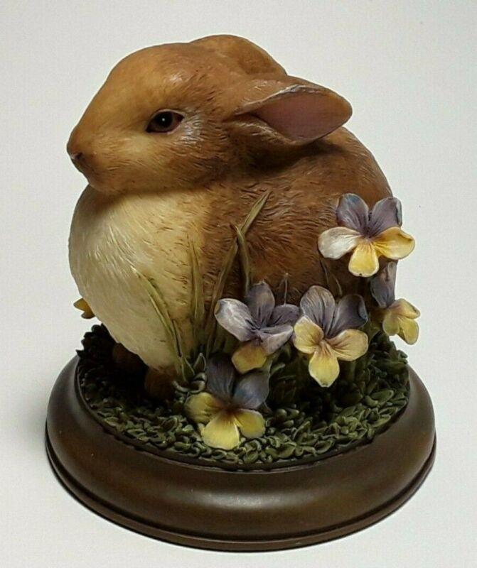 Marjolein Bastin Bunny Figure on Wood Nature