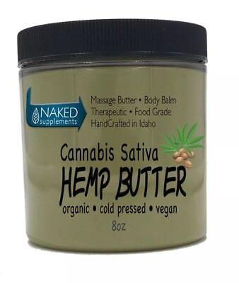 Cannabis Sativa Hemp Butter   100  Pure  Organic   Raw   Handcrafted   Vegan  A