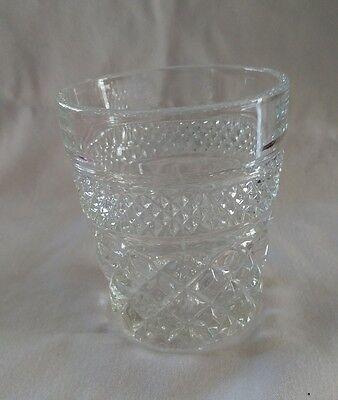 Set of 4 Vintage Anchor Hocking Wexford Old Fashioned highball rocks glasses