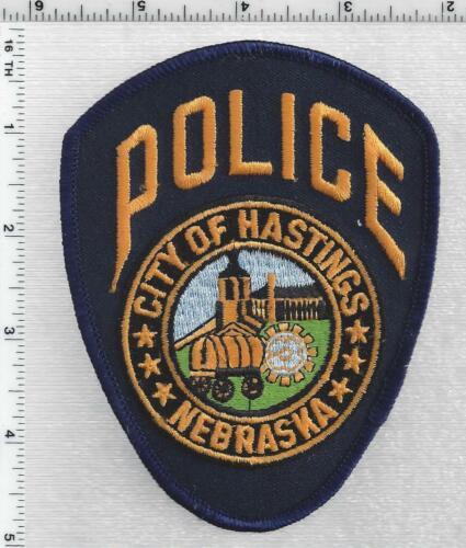 Hastings Police (Nebraska) 3rd Issue Shoulder Patch