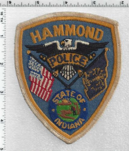 Hammond Police (Indiana) 2nd Issue Shoulder Patch