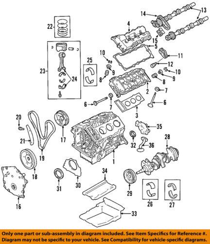 [SCHEMATICS_48YU]  CHRYSLER OEM-Engine Valve Cover 4892186AB | eBay | 2008 2 7 V6 Chrysler Engine Diagram |  | eBay