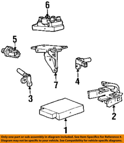 Ford Oem Engine Crankshaft Crank Position Sensor Cps 1f1z6c315ab