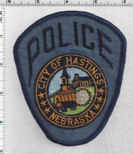 Hastings Police (Nebraska) 2nd Issue Shoulder Patch