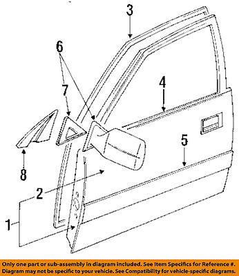 TOYOTA OEM-Door Window Sweep-Belt Molding Weatherstrip Left 7572060021